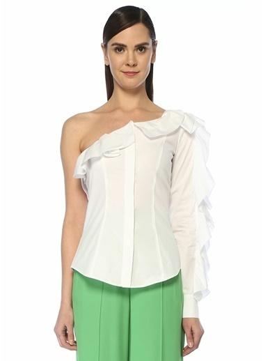 Sara Battaglia Gömlek Beyaz